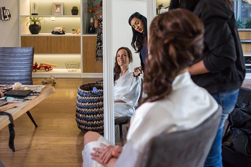 bruiloft in Castricum - FloorFoto - voorbereiding bruid