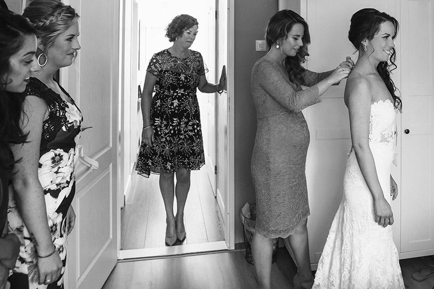 bruiloft in Castricum - FloorFoto - voobereiding bruid