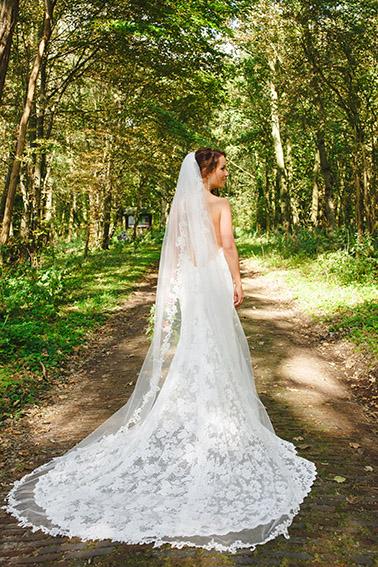 bruiloft in Castricum - FloorFoto - bruid