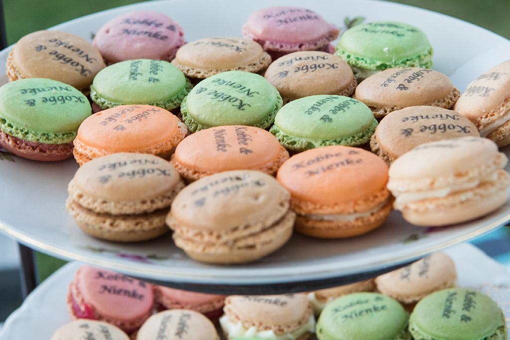 trouwen in Brabant - FloorFoto - macarons