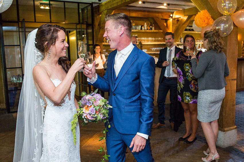 bruiloft in Castricum - FloorFoto - toost