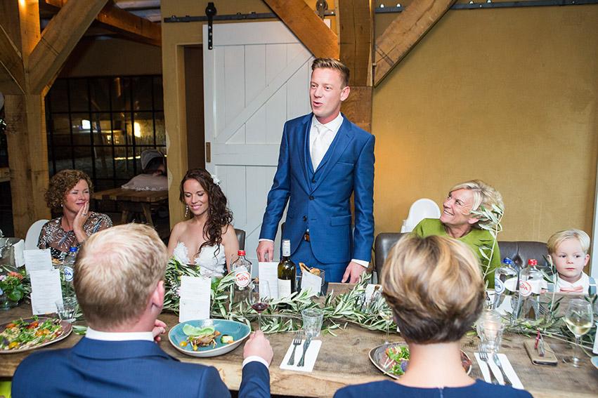 bruiloft in Castricum - FloorFoto - diner
