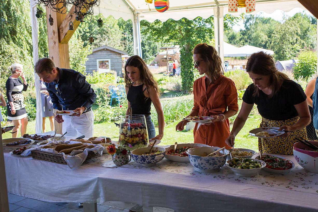 trouwen in Brabant - BBQ