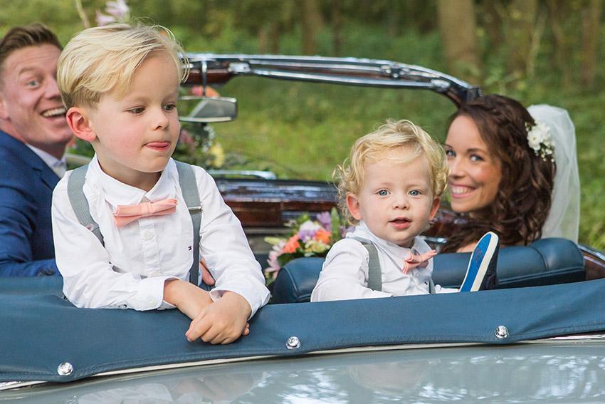 bruiloft in Castricum - FloorFoto - fotoshoot met kinderen