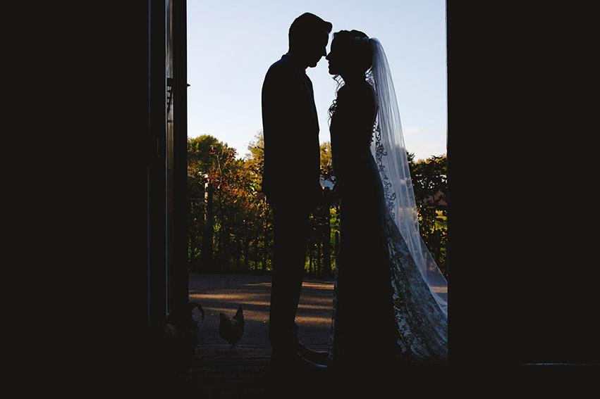bruiloft in Castricum - FloorFoto -bruidspaar