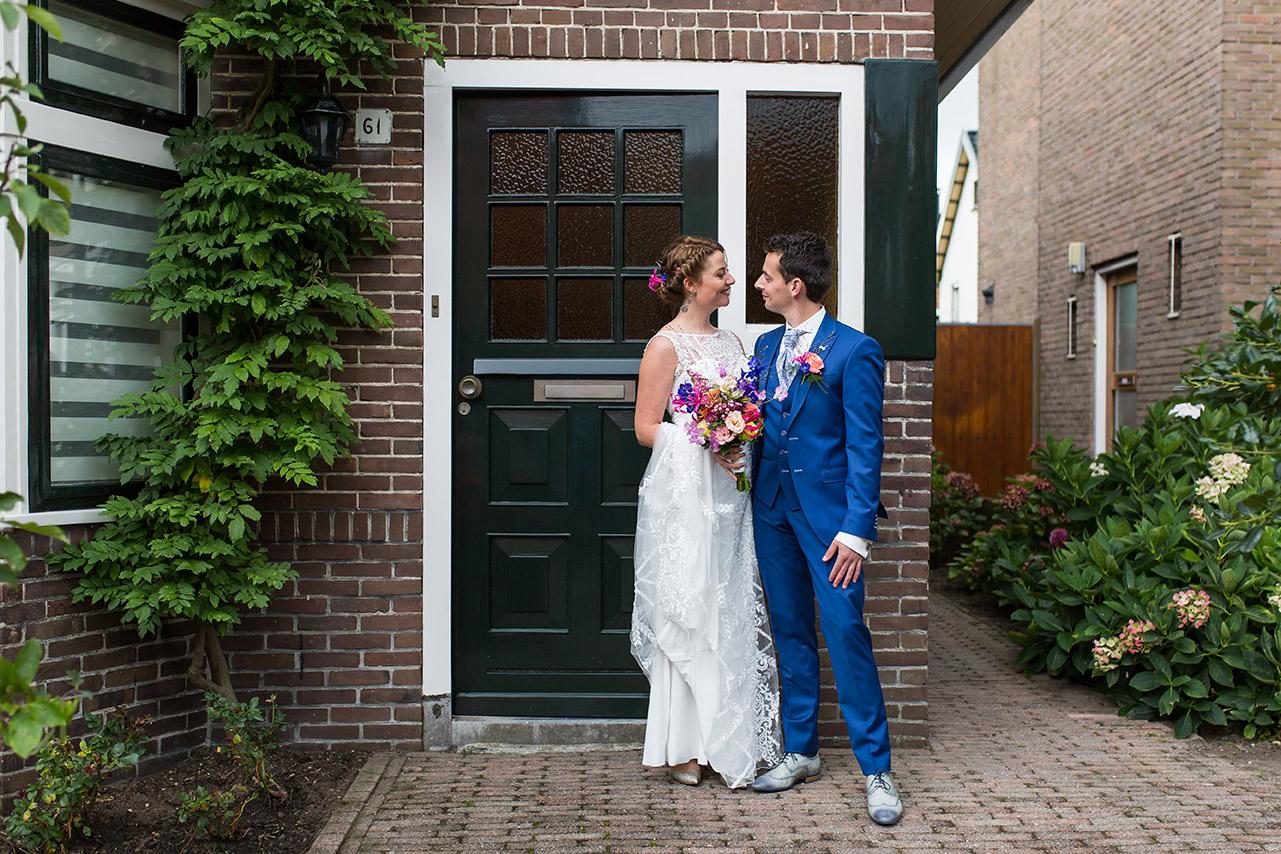 Trouwfotografie in Haarlem - het bruidspaar