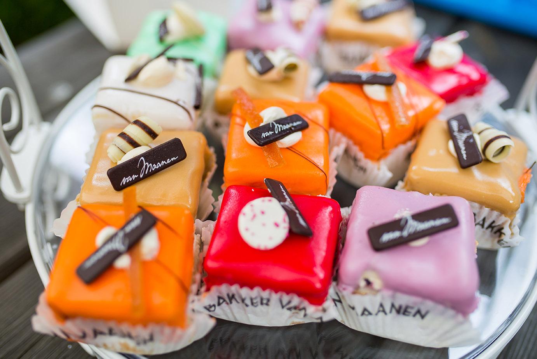 Trouwfotografie in Haarlem - trouwen taart