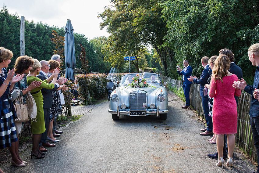bruiloft in Castricum - FloorFoto - aankomst