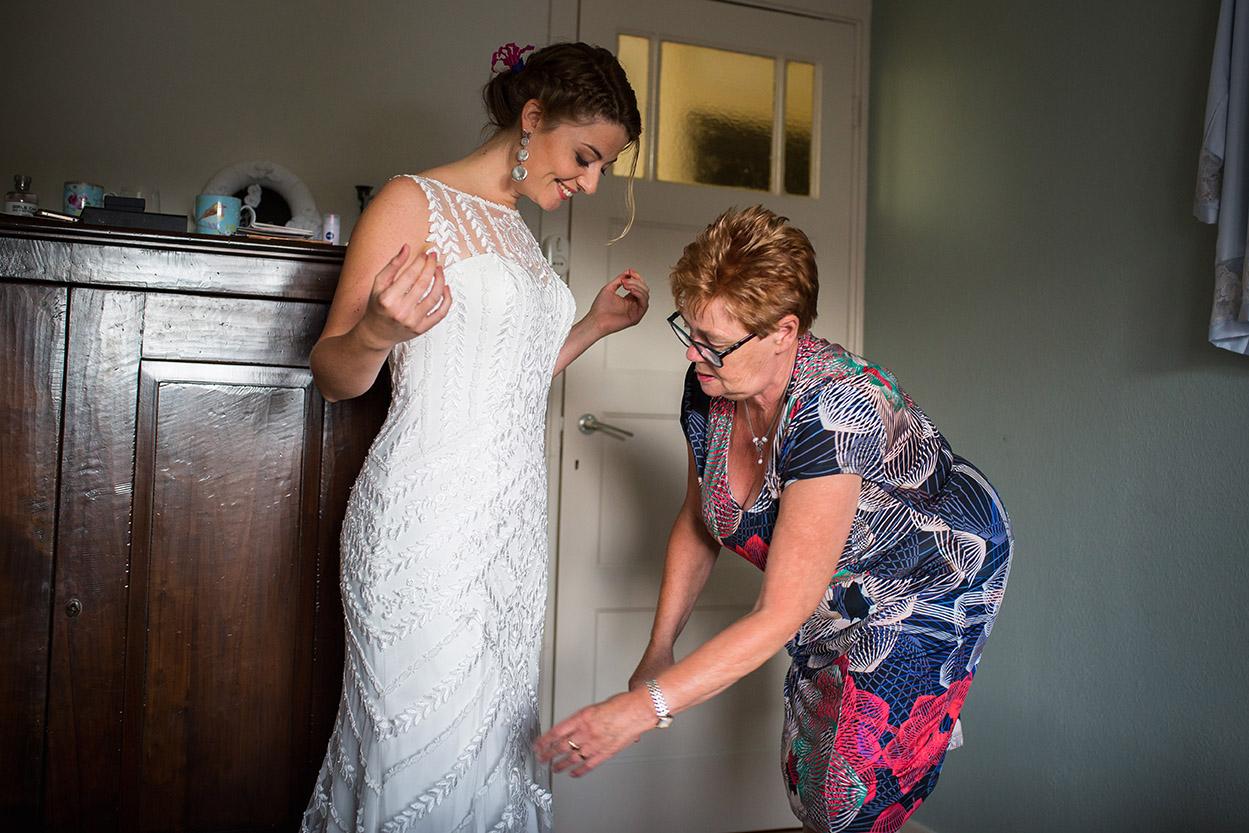 Trouwfotografie in Haarlem - voorbereidingen bruid