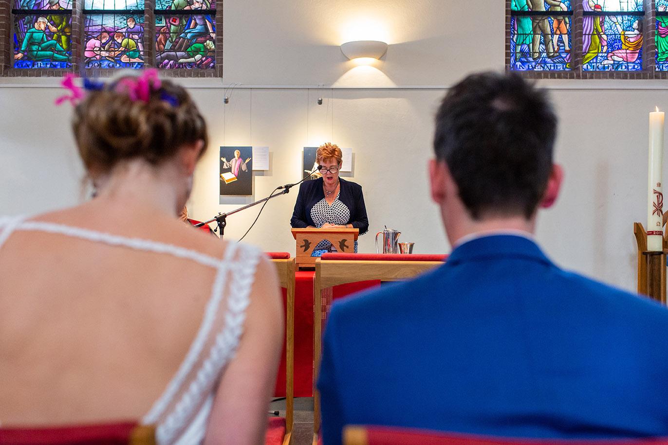 Trouwfotografie in Haarlem - kerkelijke inzegening