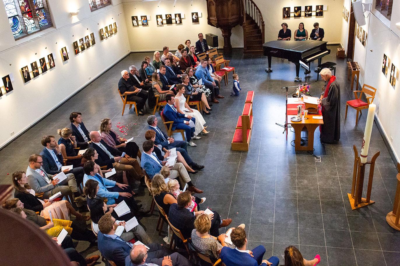Trouwfotografie in Haarlem - trouwen in de kerk