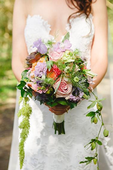 bruiloft in Castricum - FloorFoto - boeket