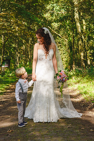 bruiloft in Castricum - FloorFoto - fotoshoot bruid