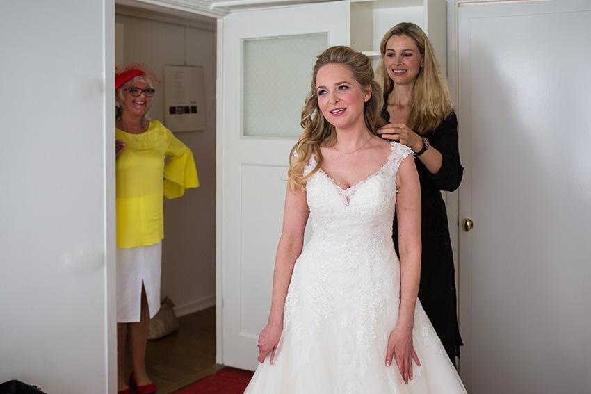Bruiloft in Amsterdam - voorbereiding bruid