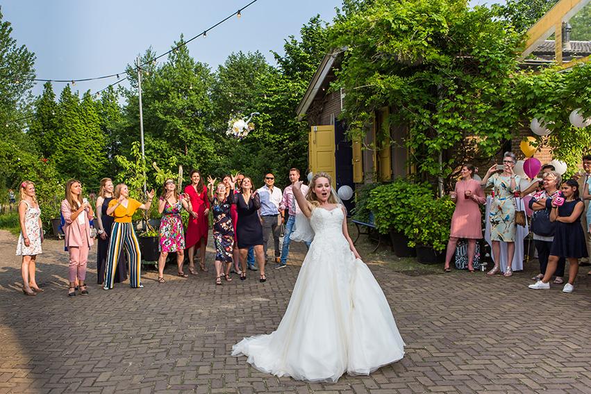 bruiloft in Amsterdam - het boeket