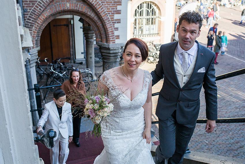 bruiloft Haarlem - stadhuis
