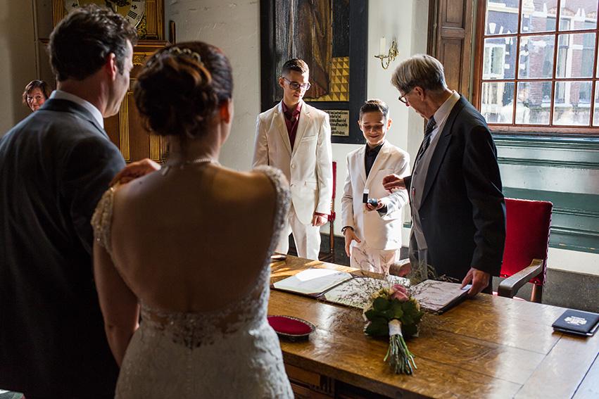trouwen in Haarlem - de ringen