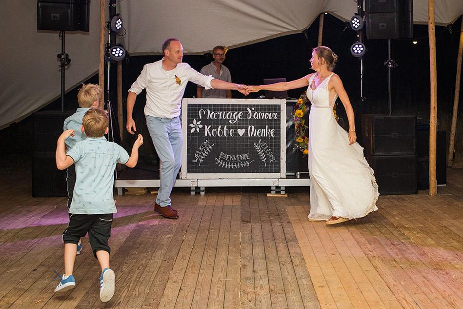trouwen in Brabant - FloorFoto - feest