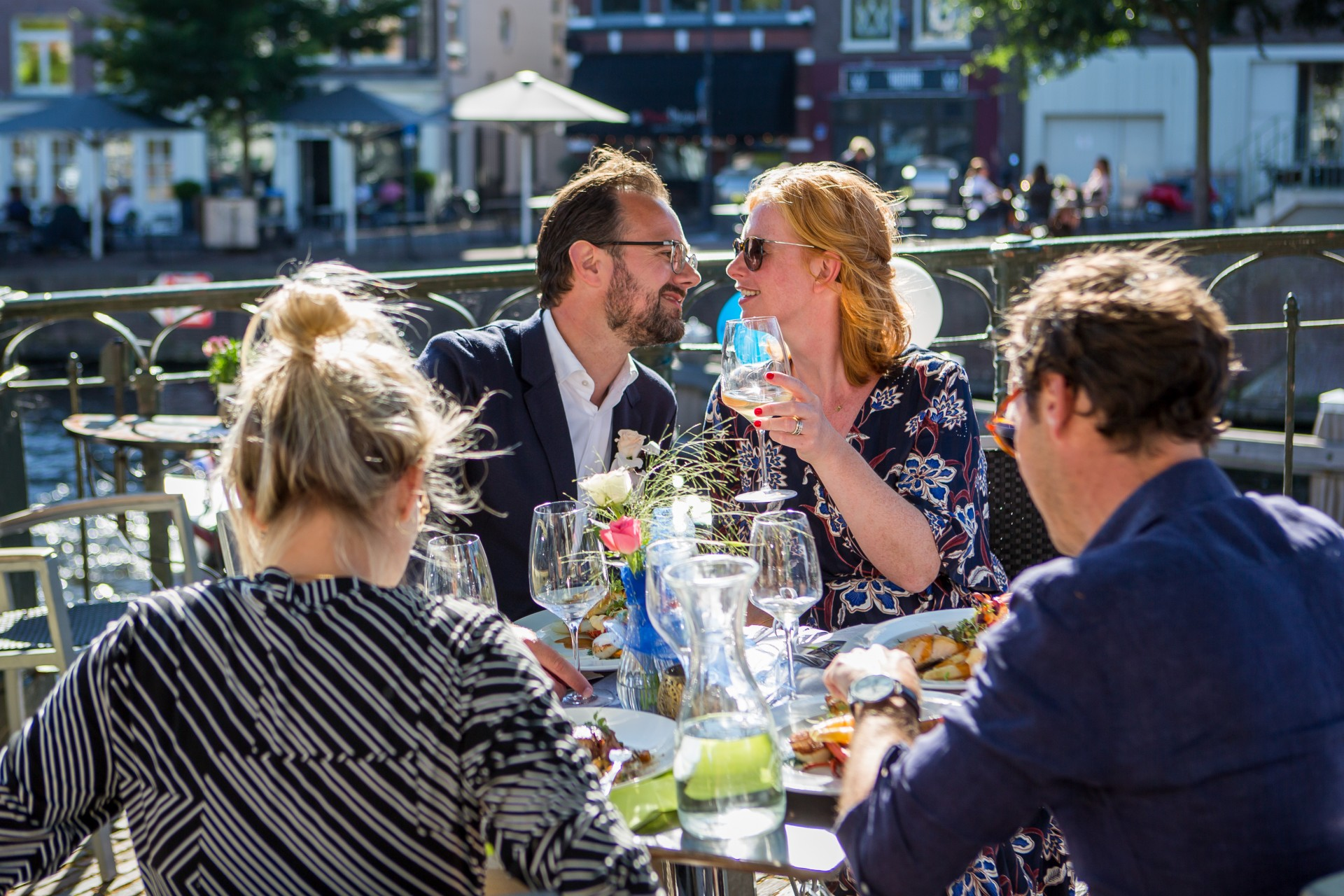 bruiloft in Haarlem