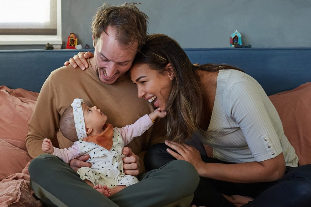 Baby fotoshoot door Floorfoto