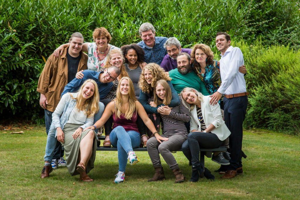 familiefotoshoot buiten foto's maken met familie