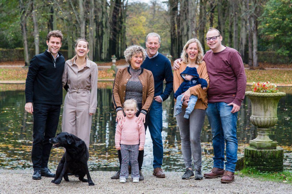 Familiefotoshoot, buiten familiefoto's maken